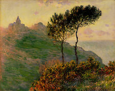 Church at Varengeville  by Claude Monet Giclee Fine Art Canvas Print