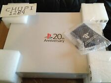 Sony PlayStation 4 20th Anniversary Edition 500 GB Gray Console Silver PS4 RARE