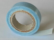 BLUE DOUBLE SIDED SALON TAPE for DIY SKIN WEFT HAIR EXTENSIONS. HOLDS 3 MONTHS.
