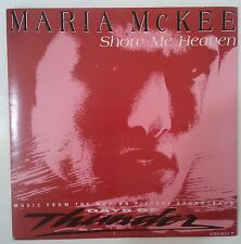 "Maria McKee Show Me Heaven Single 7"" UK 1990 BSO del film Days Of Thunder"