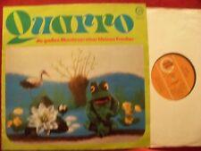 Quarro, die großen Abenteuer eines kleinen Frosches   rare Perl LP
