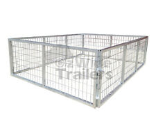 TRAILER CAGE 7x5 600MM 2FT HOT DIPPED GALVANISED