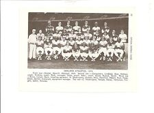 A's 1974 Team Pic Reggie Jackson Jesus Alou Catfish Hunter Vida Blue Alvin Dark