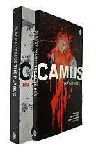 Albert Camus 2 Books The Outsider & The Plague Fiction Paperback New