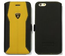 Lamborghini Huracan-D1 Leather Ultra Slim Case for iPhone 6 Plus / 6s Plus (YW)