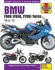 BMW F800S F800ST F800GS F800R F800GT F650GS 2006 - 2016 Haynes Manual 4872 NEW