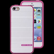 Body Glove Rise Ultra Thin 3D Case for IPhone SE,5/5s - Raspberry White Shimmer