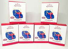 Hallmark Little Tikes Fisher Price Baby's First Swing 2015 Lot Of Six NEW