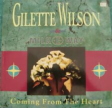 "Gilette Wilson & Milk Way, Coming from the heart, VG+/EX 12"" EP (6677)"