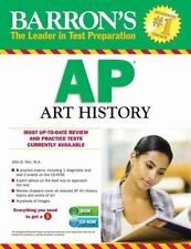 Barron's AP Art History with CD-ROM, 3rd Edition (Barron's AP Art History (W/CD