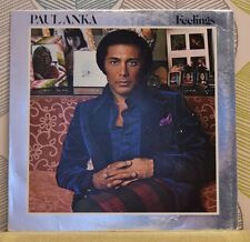 PAUL ANKA - Feelings [Vinyl LP,1975] USA Import UA-LA367-G Rock Pop Vocal *EXC