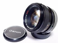 Canon FD 50mm F/1.4 SSC Camera Lens | Good Aperture | Excellent Condition.
