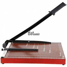 "PAPER CUTTER 15 x 12"" inch METAL BASE TRIMMER Scrap booking Guillotine Blade New"