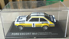 "DIE CAST "" FORD ESCORT MkII ACROPOLIS RALLY - 1979 "" RALLY DEA SCALA 1/43"