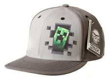 Minecraft Creeper Inside Premium Snap Back Hat - Licensed - One Size Fits Most