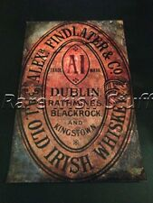 Alex Findlater & Co - Rathmines Blackrock Dalkey Dublin Irish Whiskey Print