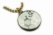 SEROTONIN MOLECULE Happy Hormone Biochem Exercise Food Pendant Necklace Charm