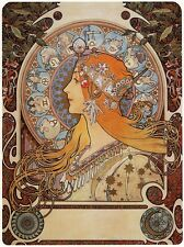 Alphonse Mucha Art Nouveau Zodiac Poster Picture Star Sign Poster NEW A3 Print