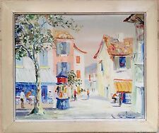 George Hann 1900–1979  oil painting on canvas signed gilt frame
