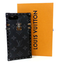 LOUIS VUITTON Monogram Eclipse Eye Trunk iPhone7 iPhone 7 Case Cover M64404 Used