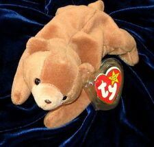 ~ RETIRED CUBBIE  TY ORIGINAL PLUSH NEW W TAGS & TAG PROTECTOR ~