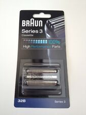 BRAUN CASSETTE FOIL/CUTTER COMBI PACK - 32b For series 3, 320 330 330, 380 Etc.