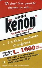 NUOVA MAGNETIZZATA GOLDEN 905 (C&C 2969) CAFFE' KENON TIRATURA LIMITATA