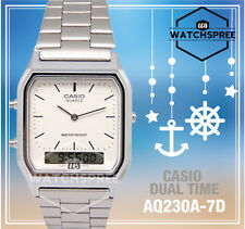 Casio Analog Digital Dual Time Watch AQ230A-7D