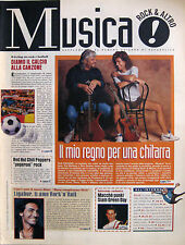 MUSICA 21 1995 Pino Daniele Pat Metheny Green Day Ligabue Marc Bolan RHCP