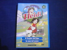 HEIDI n 1 - CARTONE ANIMATO IN DVD ORIGINALE - visitate COMPRO FUMETTI SHOP