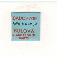 NOS GENUINE BULOVA WATCH PART #70R Pallet Stone-Right  Fits 10AUC MOVEMENT