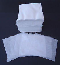 "100% Cotton Muslin Squares.6""x6"" 500 pack.Makeup removal,dental napkins etc ."