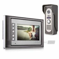 "7"" TFT Colore LCD Video Campanello Kit Citofono Camera+Monitore Casa Sicurezza"