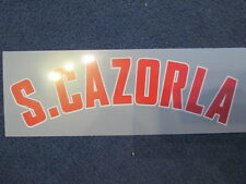 S Cazorla Arsenal 2012-2013 Champions League Away Football Shirt Name Only Set