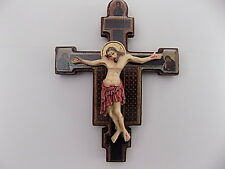 Crucifix Jesus Christ on Cross Wooden 14cm x 10.5cm Comes In A Gift Box