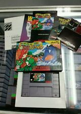 Super Mario World 2: Yoshi's Island Super Nintendo SNES Complete Super Nice