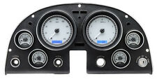 Dakota Digital 63 - 67 Chevy Corvette Analog Dash Gauges Silver Blue VHX-63C-VET