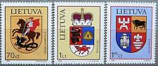 Lithuania stamps - Coats of Arms_1999 - MNH.