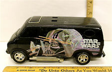 Vintage 1977 Star Wars Darth Vader Van  Black Plastic Friction SSP Kenner 90110