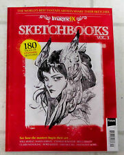 SKETCHBOOKS Vol 3 From IMAGINE FX Magazine 180 Pages INSPIRATIONAL FANTASY ART