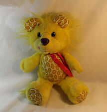Vintage Yum Yums Lemon Lion Plush 1989 Hallmark Kenner