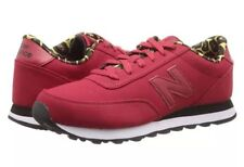 New Balance Classic 501 Red Leather W/Rare Leopard Print Women's Size 9.5 NIB