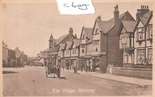 THE VILLAGE WALLASEY WIRRAL Nr NEW BRIGHTON POSTED TO BRUSSELS 1920 LEASOWE ROAD