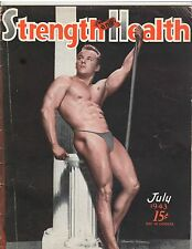 Strength & Health Bodybuilding Weightlifting Magazine Alexander Autopchuck 7-43
