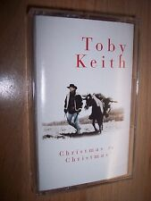 1995 Toby Keith Christmas To Christmas Cassette