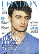 DANIEL RADCLIFFE KATE BUSH ANNOUNEMEN THE LONDON MAGAZINE AUGUST 2014 PROPERTY