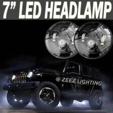 "90W CREE LED Headlight Kit 7""Round Speaker Shaped Projector Headlamp Assembly"
