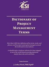 Dictionary of Project Management Terms, Third Edition Ward, J. LeRoy Paperback