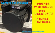 LENS CAP  DIRECTLY TO FUJI S4850 HD S4850HD FINEPIX FUJIFILM+HOLDER