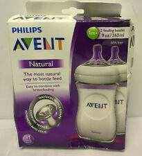 Philips Avent BPA Free Natural Polypropylene Bottle, 9 Ounce, 2 Count...
